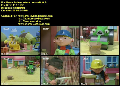 Μπομπ Ο Μάστορας - Bob The Builder: Roleys Animal Rescue N.M.S (ALTER)