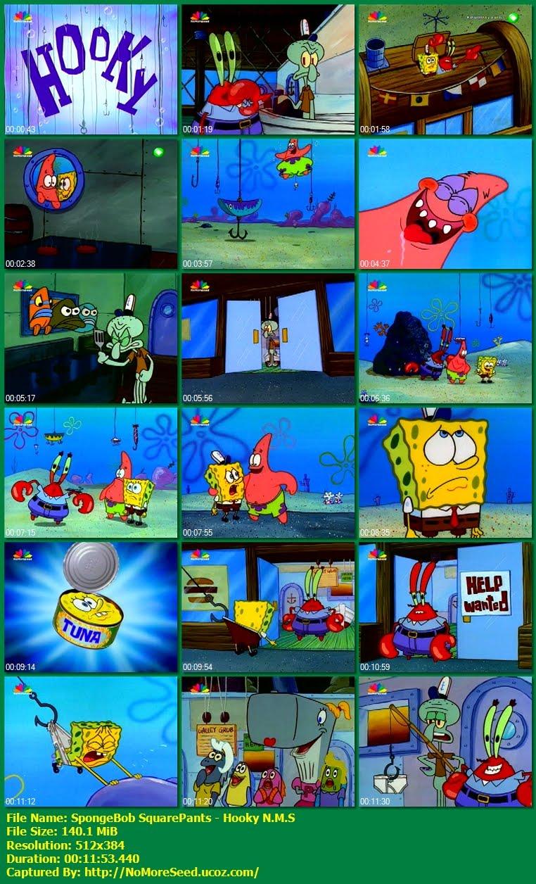 SpongeBob SquarePants: Hooky - Μπομπ Σφουγγαράκης: ΟΙ ΓΑΝΤΖΟΙ  N.M.S (STAR)