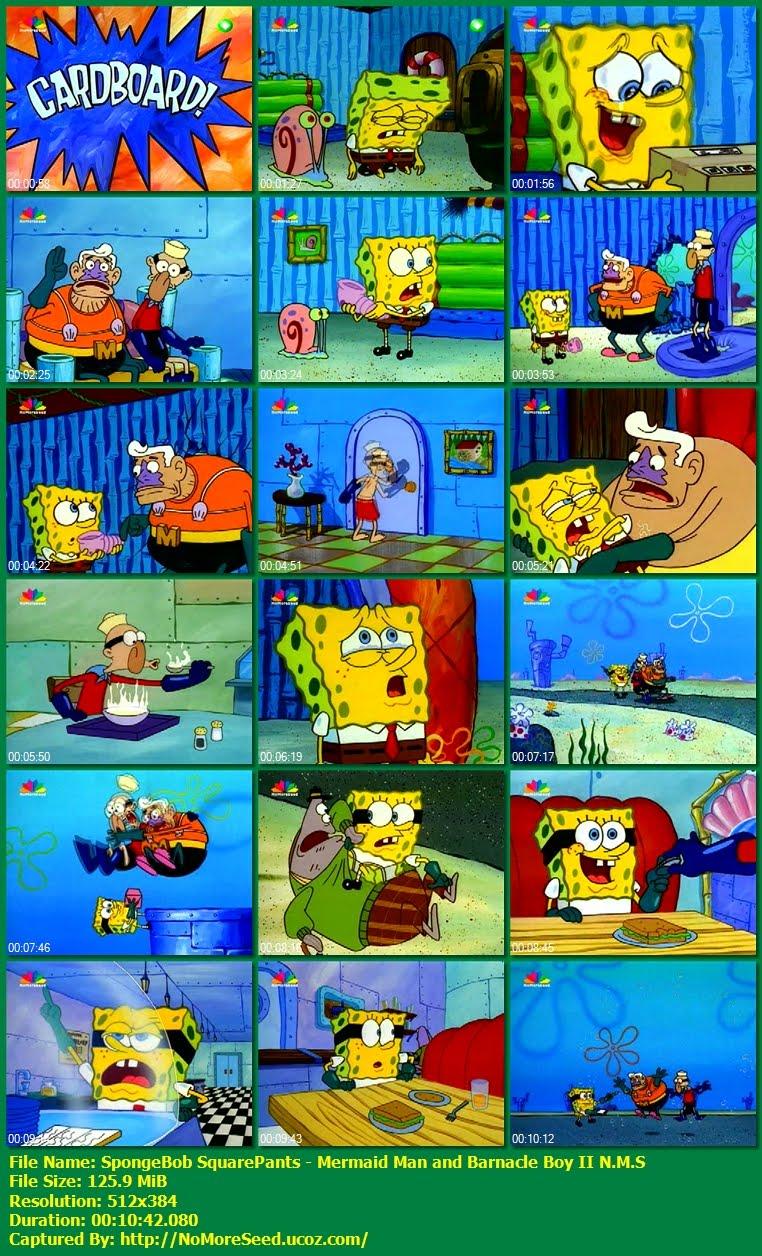 SpongeBob SquarePants: Mermaid Man and Barnacle Boy II - Μπομπ  Σφουγγαράκης: Ο Γοργόνος και ο Στείδης Νο2 N.M.S (STAR)