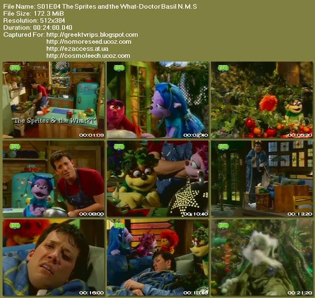 Ο ΤΖΟΝΙ ΚΑΙ  ΤΑ ΞΩΤΙΚΑ - JOHNNY AND THE SPRITES - S01E04 - The Sprites And The What -  Doctor Basil N.M.S. (ΕΤ1)