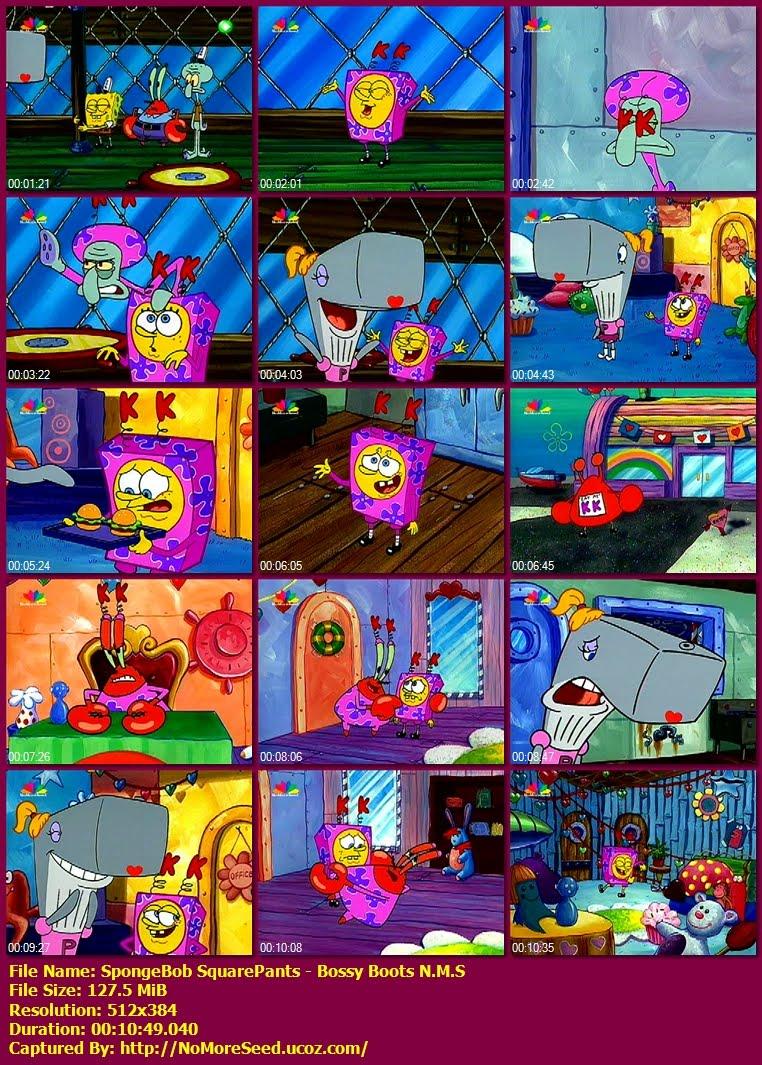 Μπομπ Σφουγγαράκης - Αυταρχικές Μπότες - SpongeBob  SquarePants - Bossy Boots N.M.S. (ΜΕΤΑΓΛΩΤΤΙΣΜΕΝΟ ΣΤΑ ΕΛΛΗΝΙΚΑ) N.M.S.  (STAR)