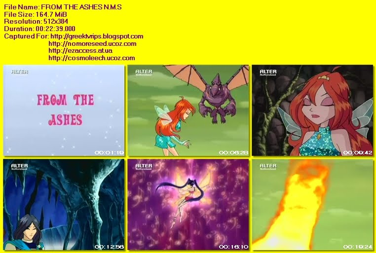 WINX CLUB - S03 - E16 FROM THE ASHES N.M.S. (ΜΕΤΑΓΛΩΤΤΙΣΜΕΝΟ ΣΤΑ ΕΛΛΗΝΙΚΑ) (ALTER)