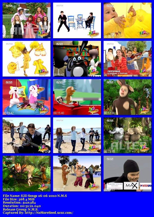 KID Songs 26-06-2010 (DVB-T) N.M.S  (ALTER)
