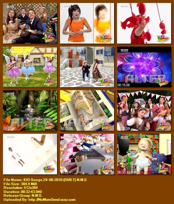 KID Songs 29-08-2010 (DVB-T) N.M.S (ALTER)