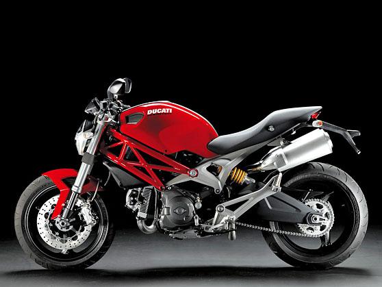 Ducati Monster Pillion