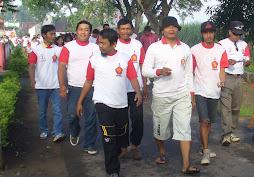 Jalan santai ulang tahun partai Gerindra