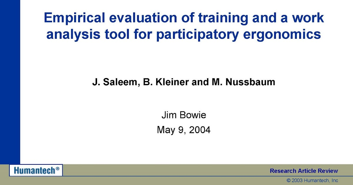 evaluation of training essay Evaluation of training evaluation is a crucial component of training and development, because it allows hr professionals to determine whether or not their initiatives are producing the desired results.