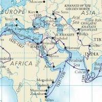sur les pas d'Ibn Battûta Ibn-Battuta-itinerary-map