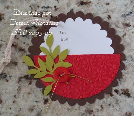 Coqueterias manuales tarjetas navide as para los regalos - Tarjetas de navidad manuales ...