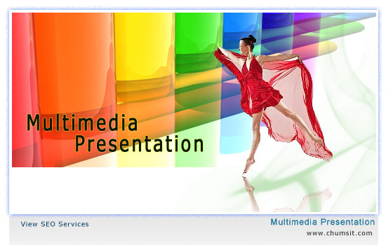 multimedia presentations boost the business up to a