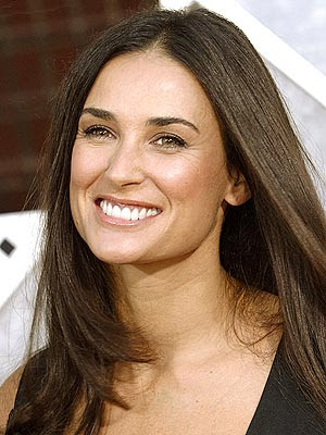 demi moore bush pictures