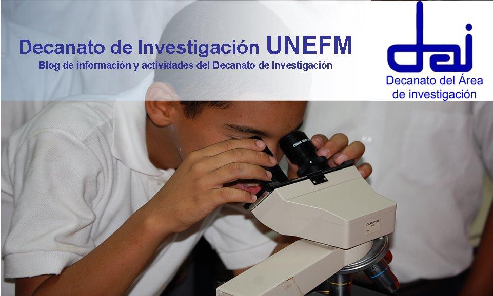 Decanato de Investigación UNEFM
