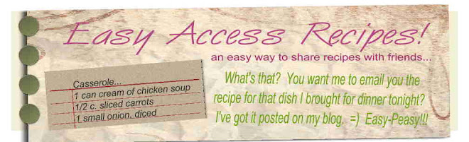 Easy Access Recipes