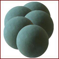Mousse sèche - SEC BOULES OASIS® décoration florale pour fleurs séchées et artificielles