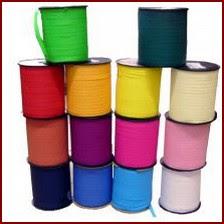 Emballage Bolduc mat de couleur