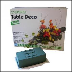 Mariage Décoration florale Deco Table Petit Modèle - Mini Base plastique avec IDEAL®