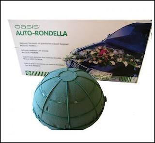 Mariage ou décoration florale AUTO RONDELLA - ventouse OASIS®