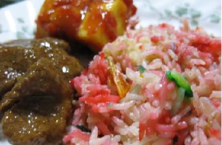 My resipi: resepi nasi hujan panas, Semua gambar dan juga resepi yang