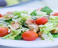 Salata cu pui si ciuperci