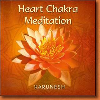 Heart chakra meditation position
