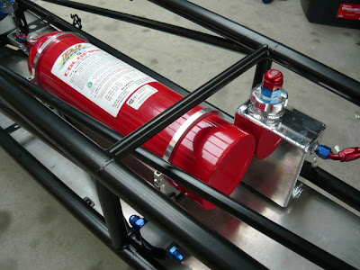 Racing Fire extinguisher