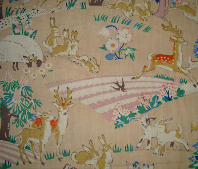 Morgaine le fay antique textiles and more vintage for Childrens material
