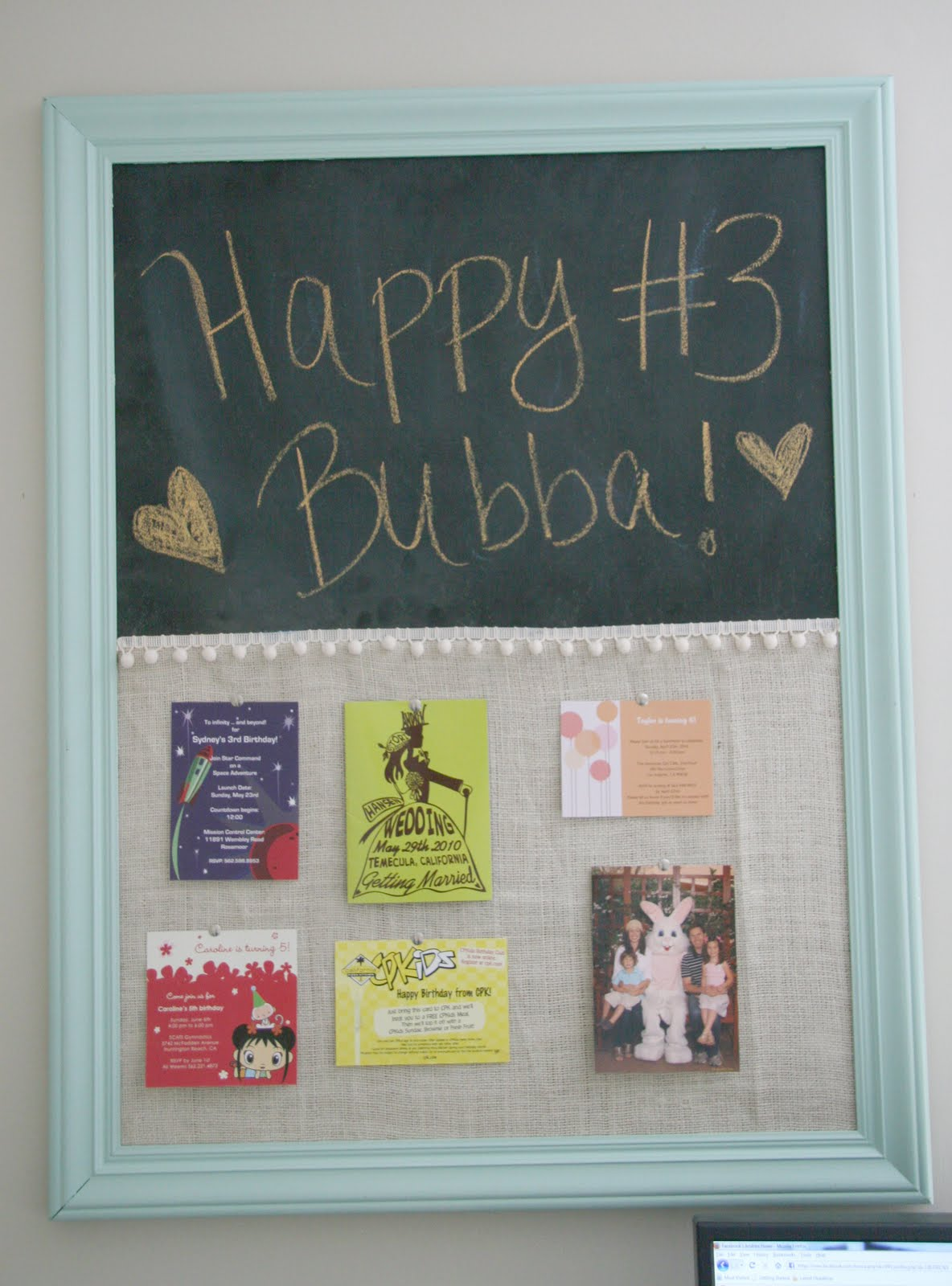 craftaholics anonymous® | rtw: chalkboard and corkboard combo tutorial
