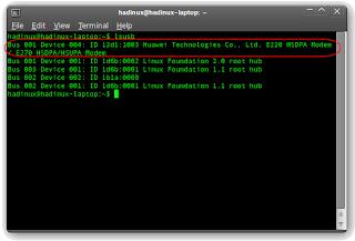 Modem connection sony ericsson k510i in ubuntu jaunty jackalope