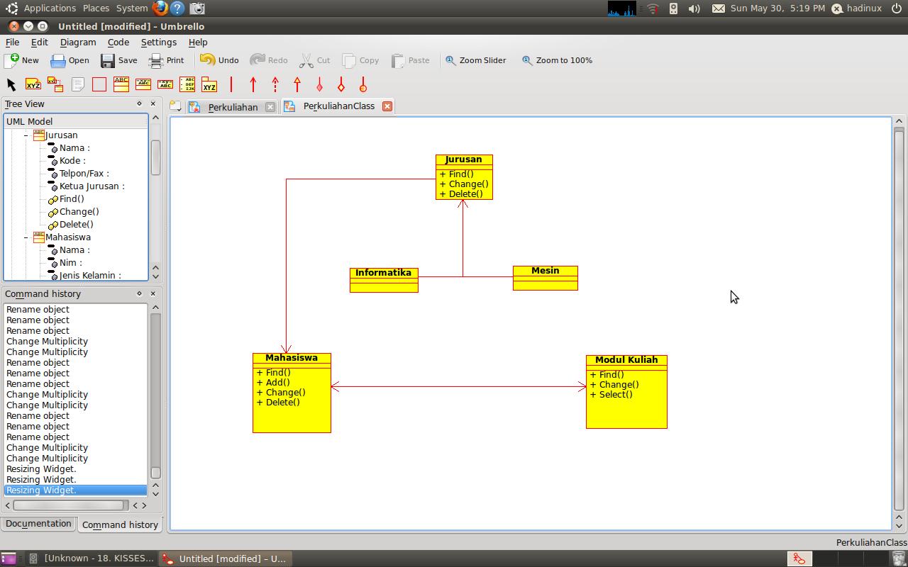 membuat class diagram dengan visio cara buat sequence