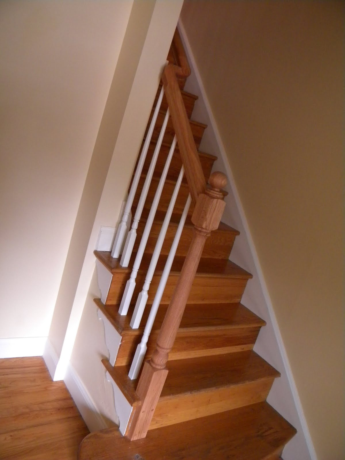 Replacement Stair Banisters Wood Stairs And Rails And Iron