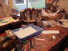 MESSY ART DESK