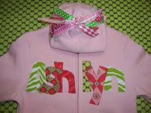 Custom Ribboned Hoodies