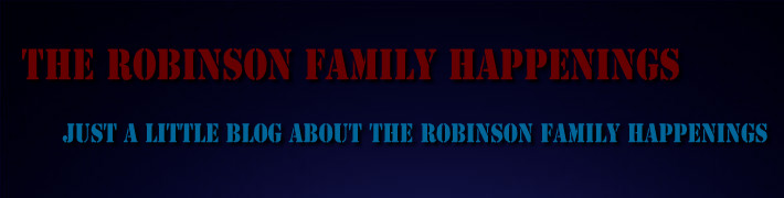 The Robinson Family Happenings