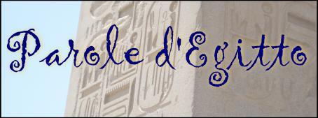 Parole d'Egitto