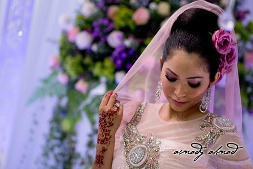 Gambar Perkahwinan Majlis Resepsi Ayu Raudhah Dan Zaquan