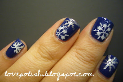 OPI Dating a royal konad snowflakes M20