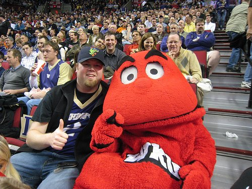 university of kentucky mascot. Kentucky#39;s mascot Big Red.