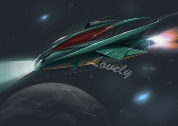 Concept space ship