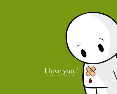Love You Wallpaper by pincel3d ~ The I Love You Blog