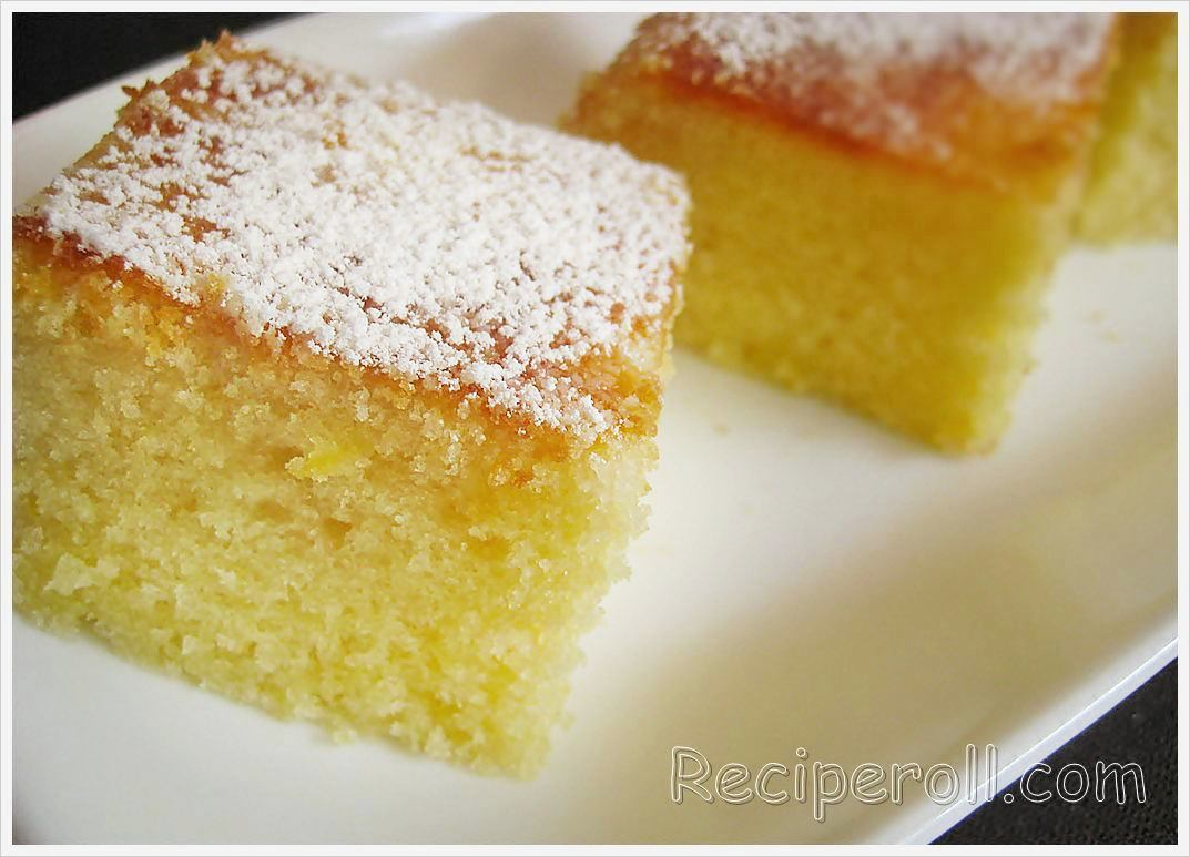 Moist lemon cake from scratch recipe