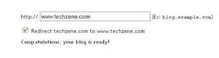 Blogger Custom Domain setup using godaddy account
