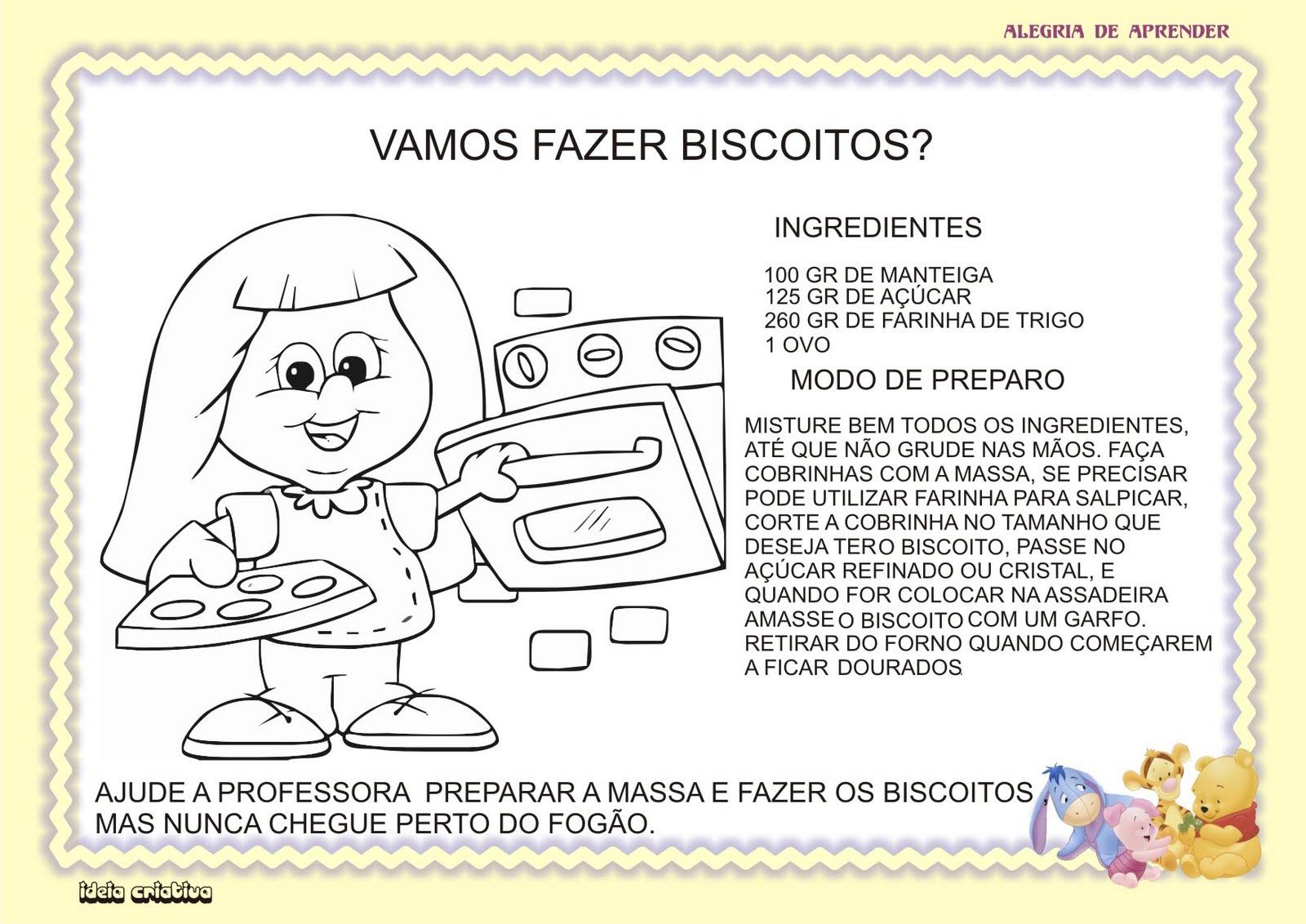 Extremamente TRABALHANDO COM RECEITAS | Ideia Criativa - Gi Barbosa Educação  SB74