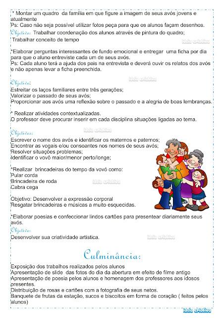 Mini Projeto Dia dos Avós
