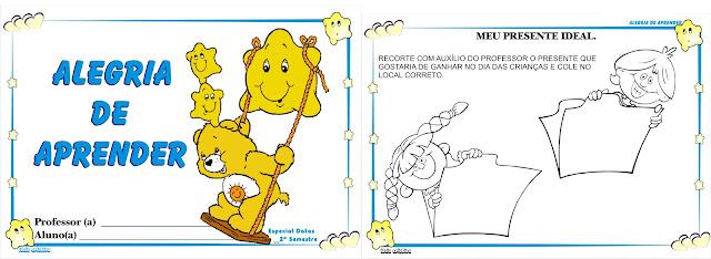 Caderno Especial Datas 2º Semestre Maternalzinho