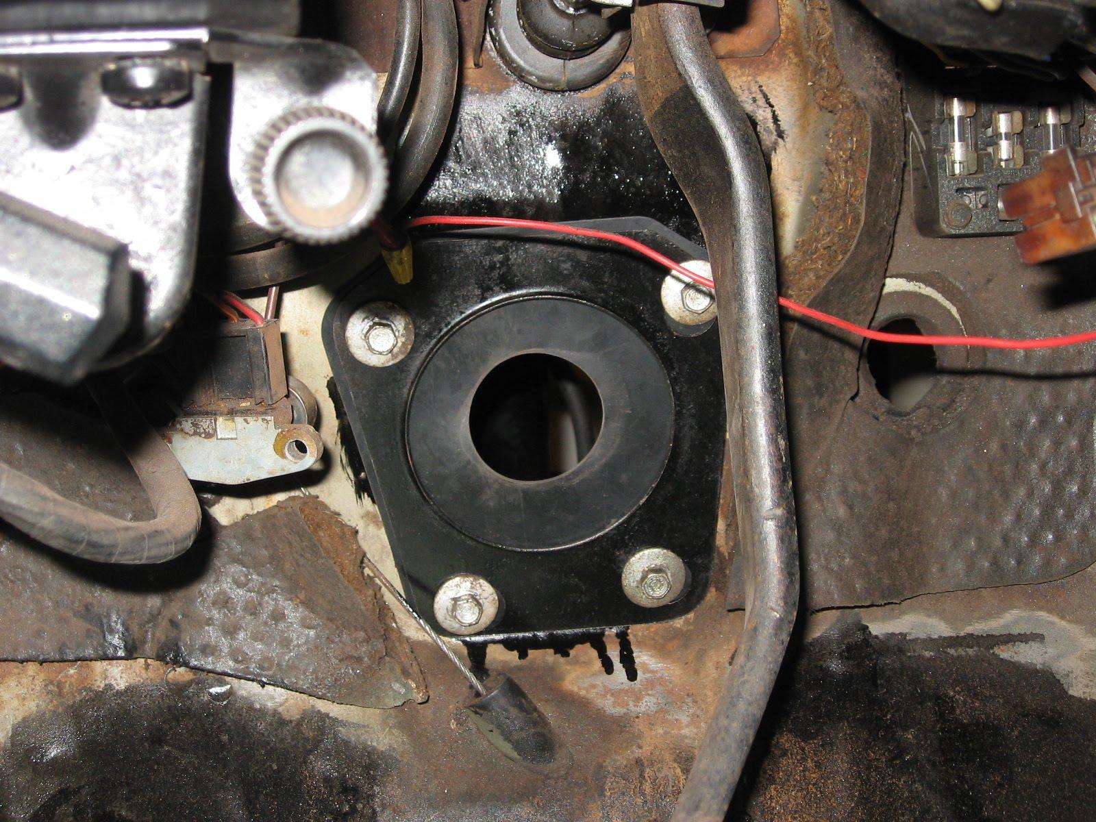 1967 Mustang Restoration Steering Installation Part 1