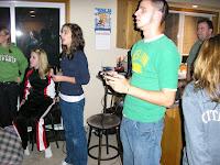 A karaoke competition