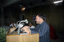 Dev Raj Ankur in Pustkalaya जोकहरा मेँ देवराज अंकुर