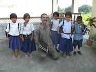 Sudhir Sharma and the children of Jokehara                         सुधीर शर्मा और जोकहरा के बच्चे