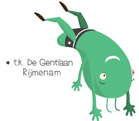 logo-ontwerp voor turnkring Gentiaan te rijmenam