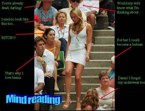 wife mind reader funny